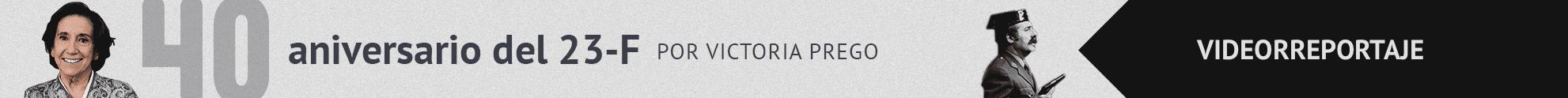 Banner sobre el especial del 40 aniversario del 23-F por Victoria Prego en El Independiente