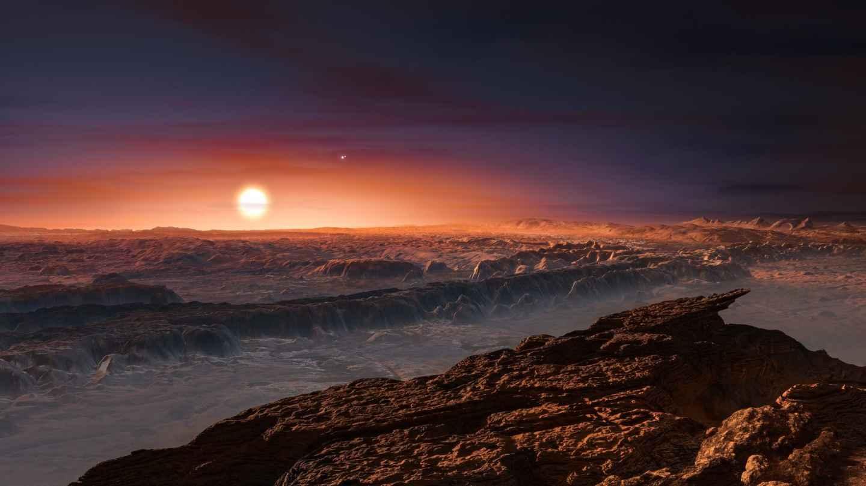 Recreación de un paisaje en Proxima b