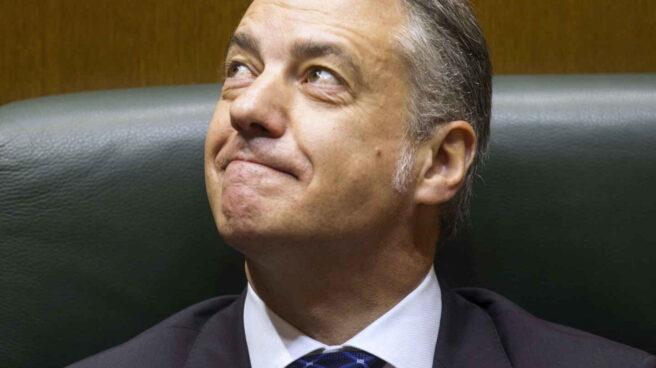 El reelegido lehendakari Iñigo Urkullu.