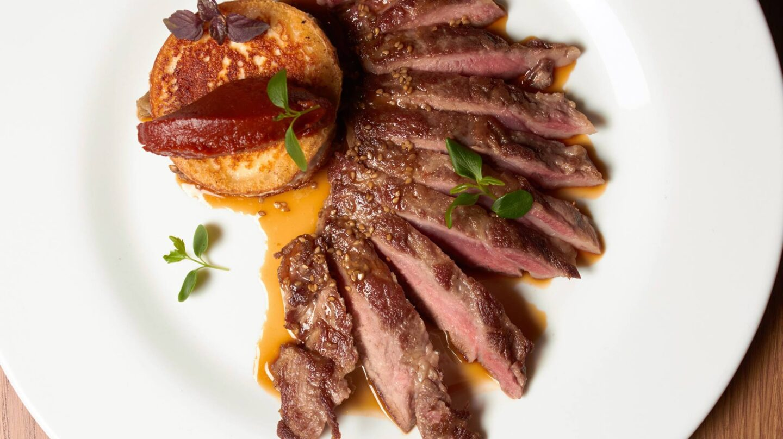 Carne gallega, una de las materias primas de la zona más famosas.