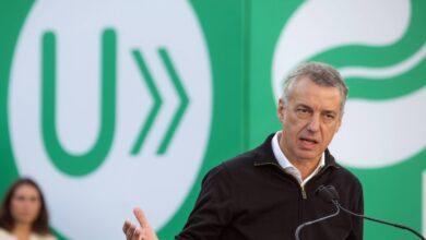 Urkullu afea a los partidos no responder a Vox tras amenazar con ilegalizar el PNV