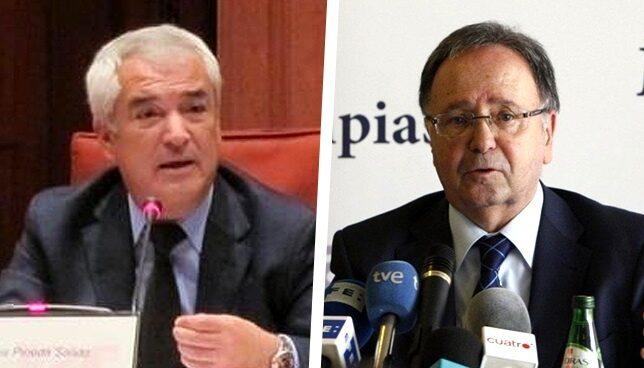 Luis Pineda y Miguel Bernard.
