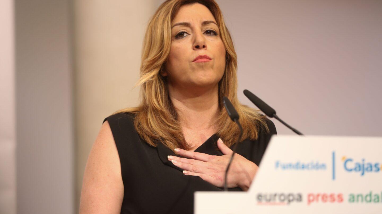La presidenta de la Junta de Andalucía y secretaria general del PSOE-A, Susana Díaz.