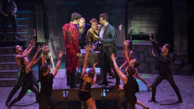 Una escena de Don Juan, un musical a sangre y fuego.
