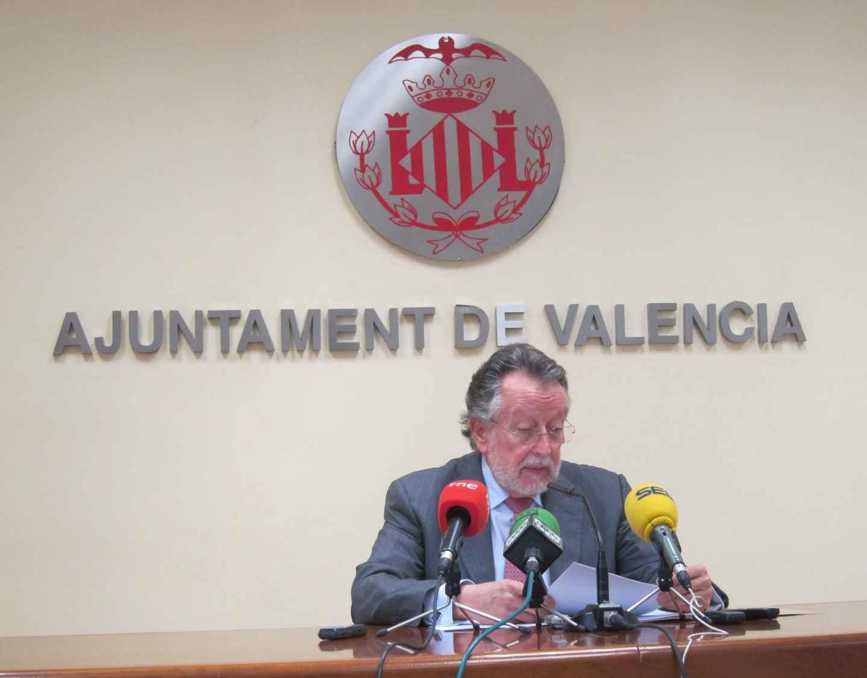 El ex vicealcalde de Valencia, Alfonso Grau.