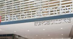 Fachada de NH Eurobuilding, uno de los buques insignia de la cadena.