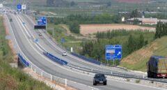 Autopista radial entre Madrid y Ocaña.