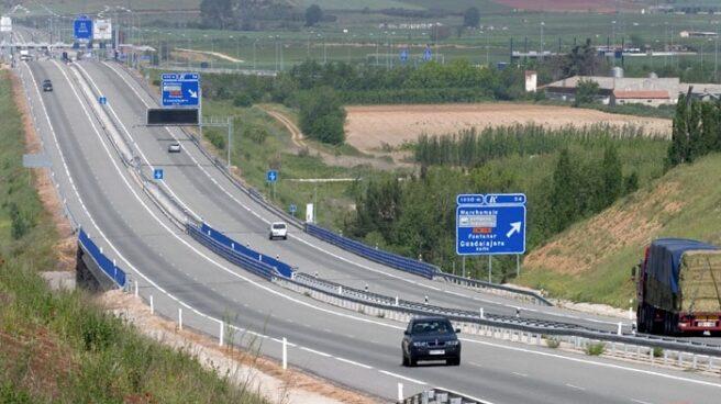 Autopista radial R-4 entre Madrid y Ocaña, una de las 9 autopistas de peaje que entraron en concurso de acreedores en España.