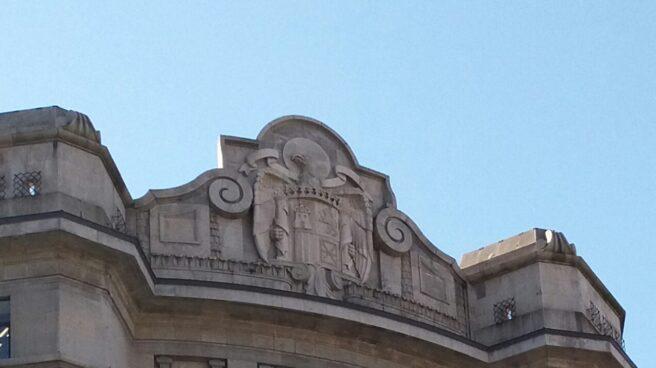 Actual fachada de la sede de Hacienda en Bilbao.
