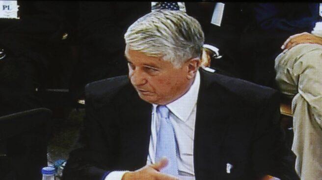 Arturo Fernández, durante una de sus declaraciones en sede judicial.