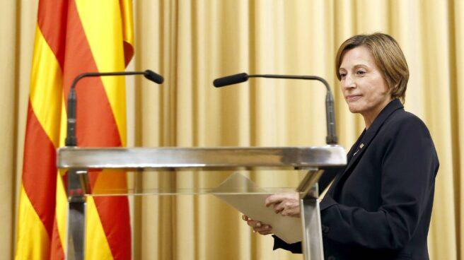 La presidenta del Parlamento catalán, Carme Forcadell.