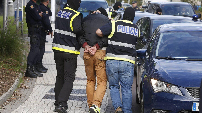 Una de las detenciones yihadistas en España.