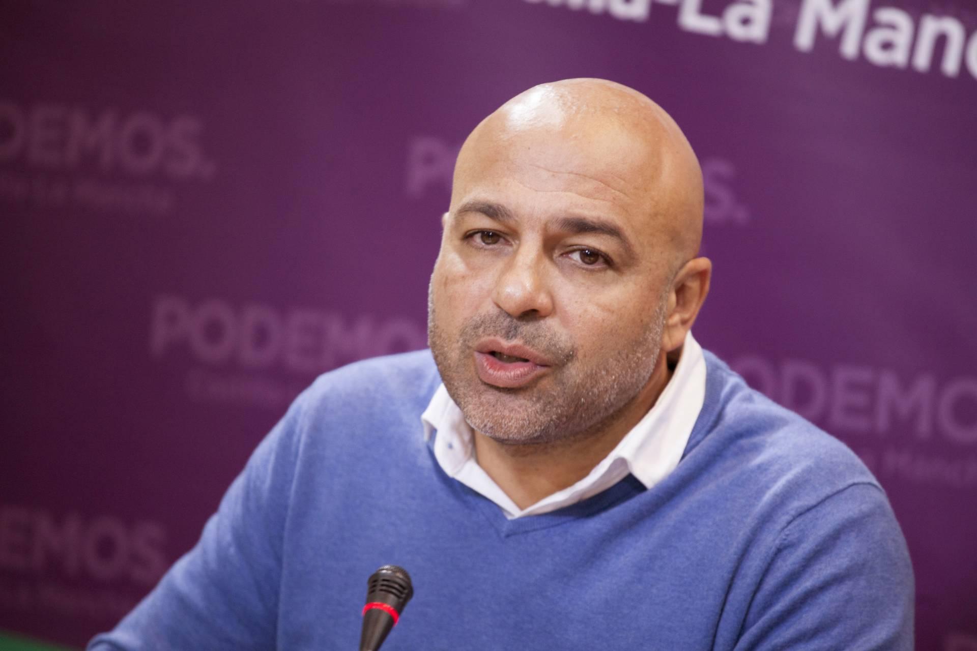 El secretario general de Podemos en Castilla-La Mancha, José García Molina.