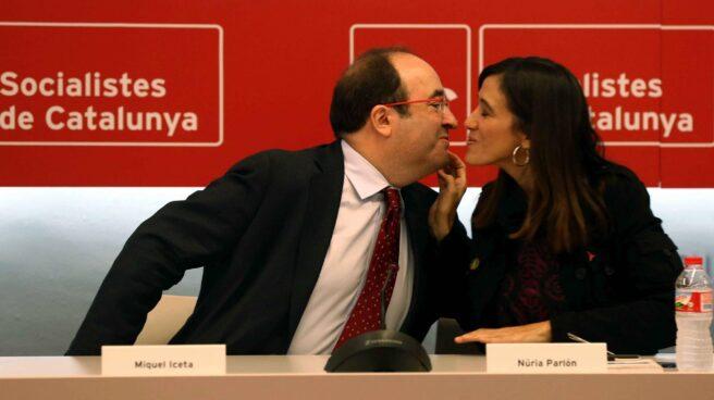 Miguel Iceta y Nùria Parlon