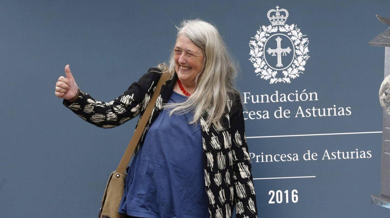 La latinista Mary Bears, en la Fundación Premios Princesa de Asturias.