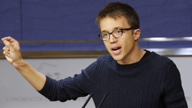El secretario político de Podemos, Iñigo Errejón, en el Congreso.