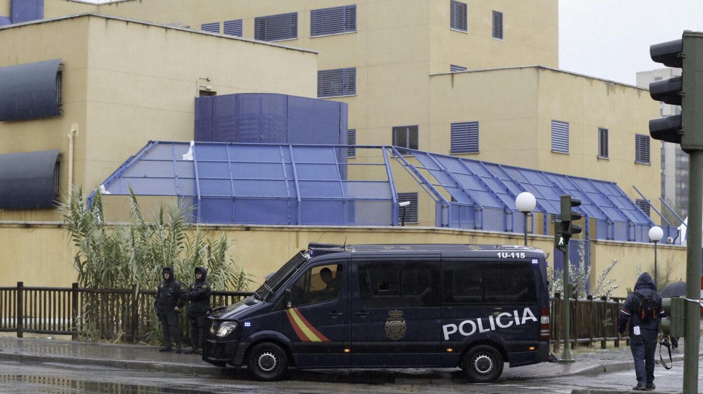 Vista general del Centro de Internamiento de Extranjeros de Aluche, en Madrid.