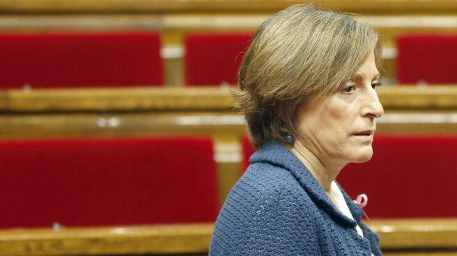 La presidenta del Parlament de Cataluña, Carme Forcadell.