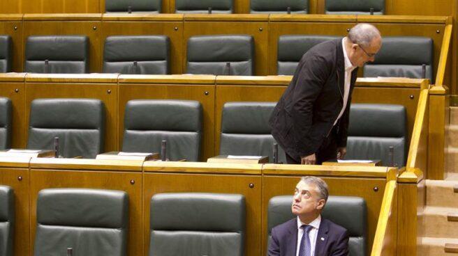 El 'lehendakari', Íñigo Urkullu, en el Parlamento vasco.