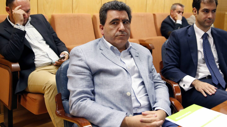 David Marjaliza, en la comisión de investigación de la Asamblea de Madrid.