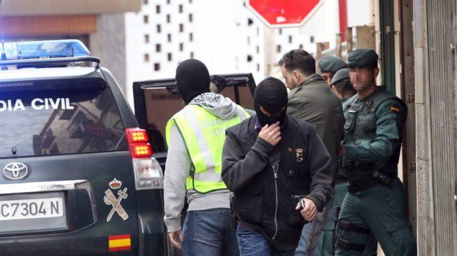Operación policial contra una célula yihadista.