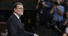 Mariano Rajoy, en su discurso a la Cámara.