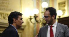 Pedro Sánchez apartará a Hernando como portavoz si gana las primarias del PSOE