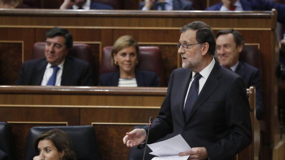 Mariano Rajoy, en el debate de investidura.