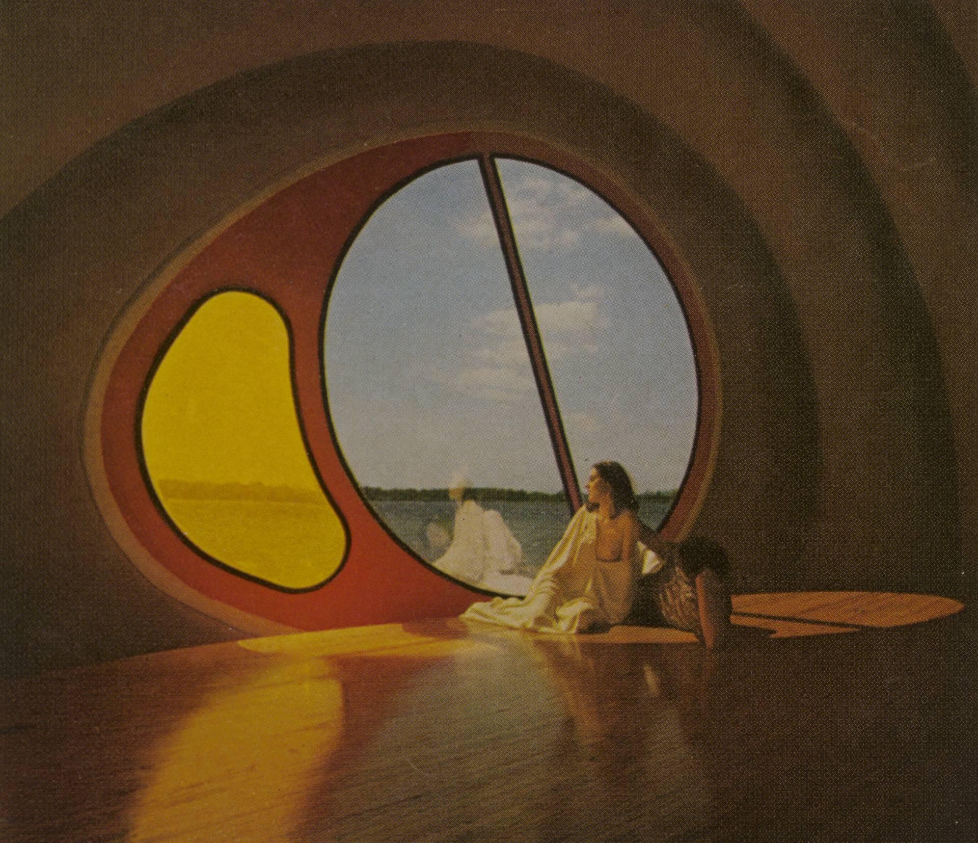 'La casa del siglo', de Ant Farm (Richard Jost, Chip Lord, Doug Michels). Publicado en la revista Playboy (1973).