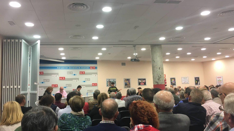 Asamblea Extraordinaria organizada por la Agrupación Socialista de Alcorcón.