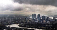 Panorámica de los rascacielos de la City de Londres, donde crece la incertidumbre ante el Brexit.