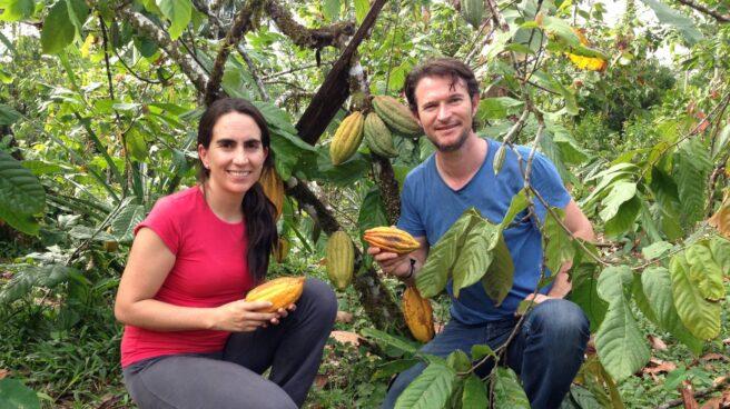 Carla Barboto y Santiago Peralta son los fundadores de Pacari.