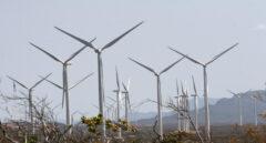 Turbinas de energía eólica.