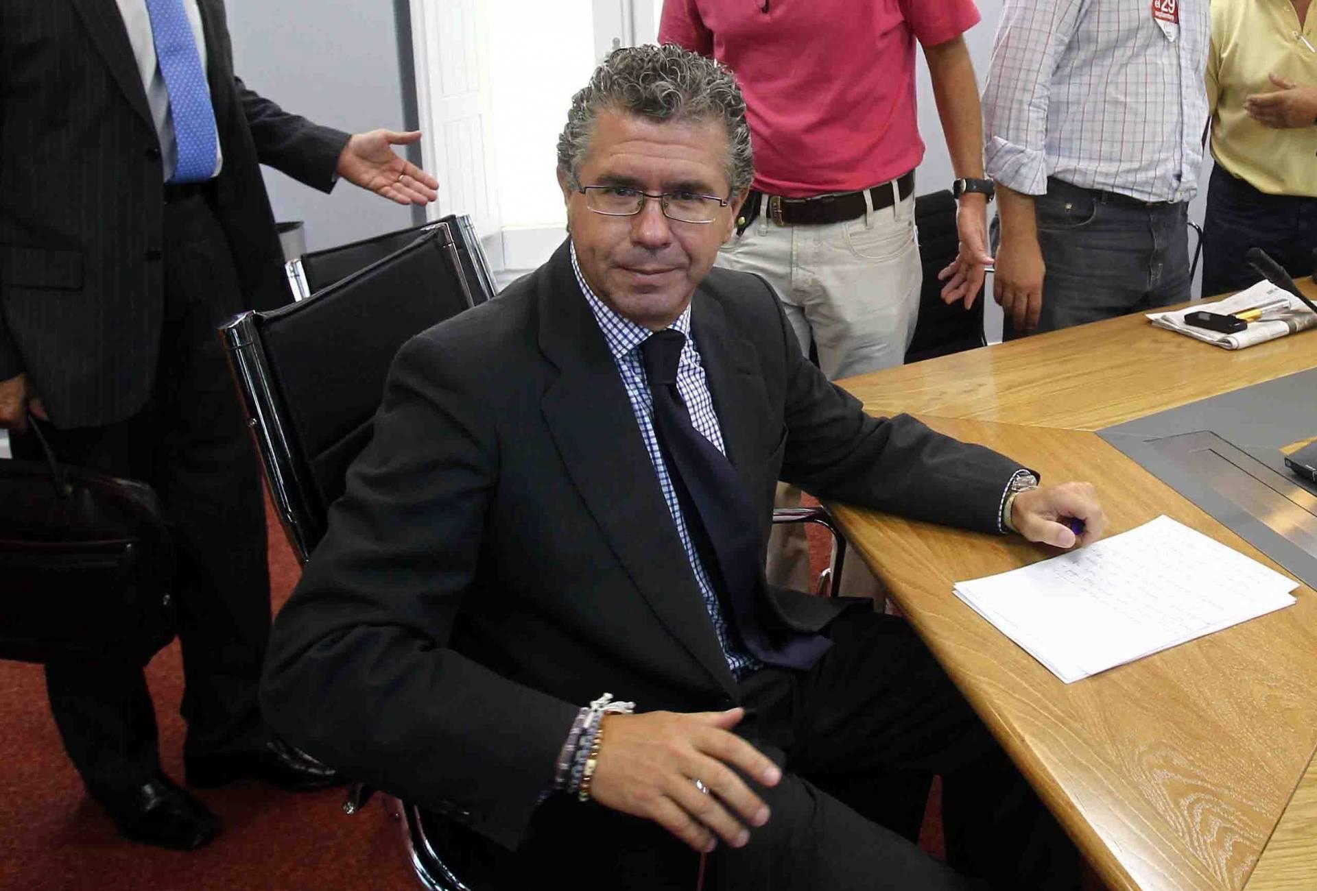 Francisco Granados, ex consejero de la Comunidad de Madrid.