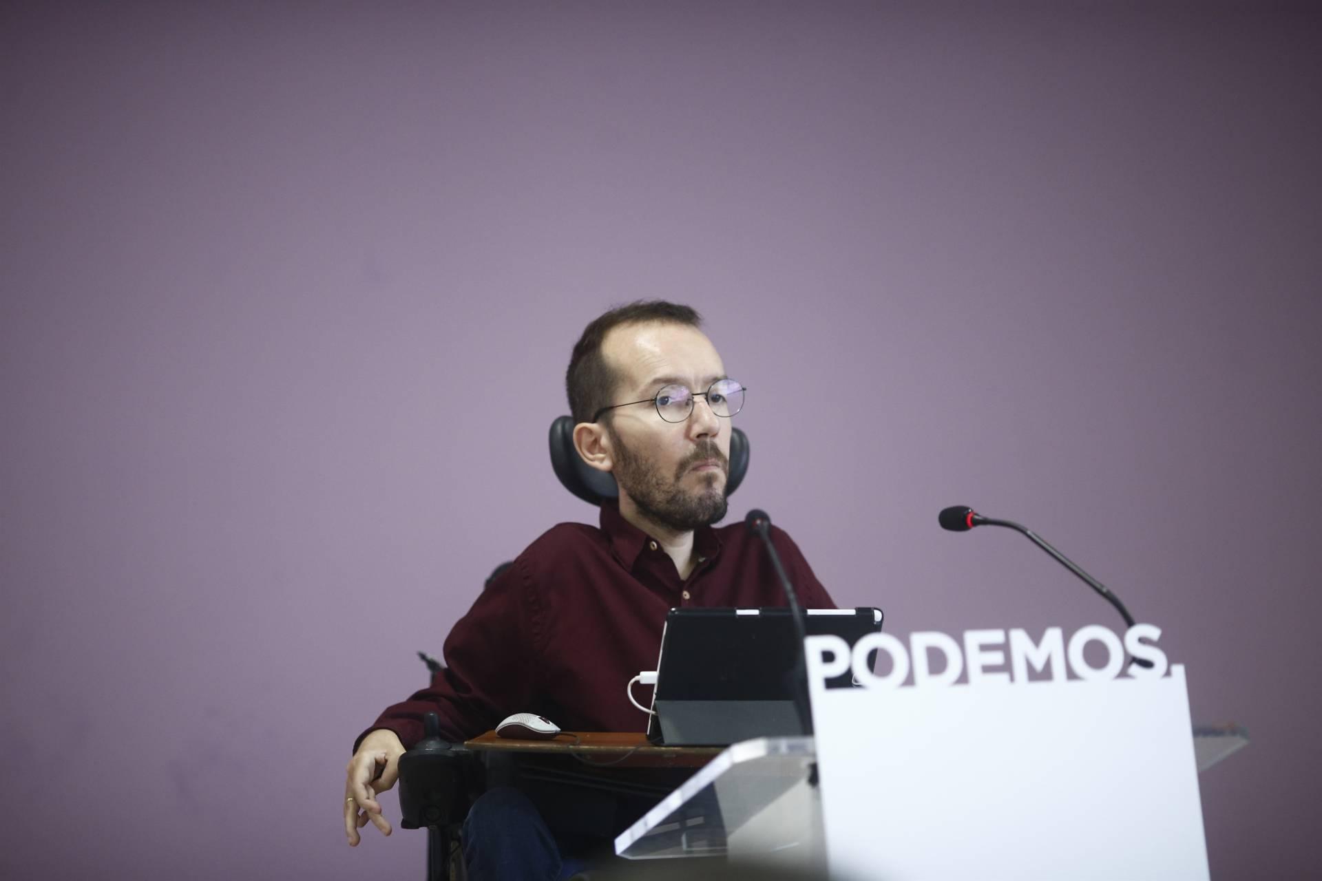"""Rita Maestre acusa a Echenique de dar un """"golpe burocrático"""" en el seno de Podemos"""