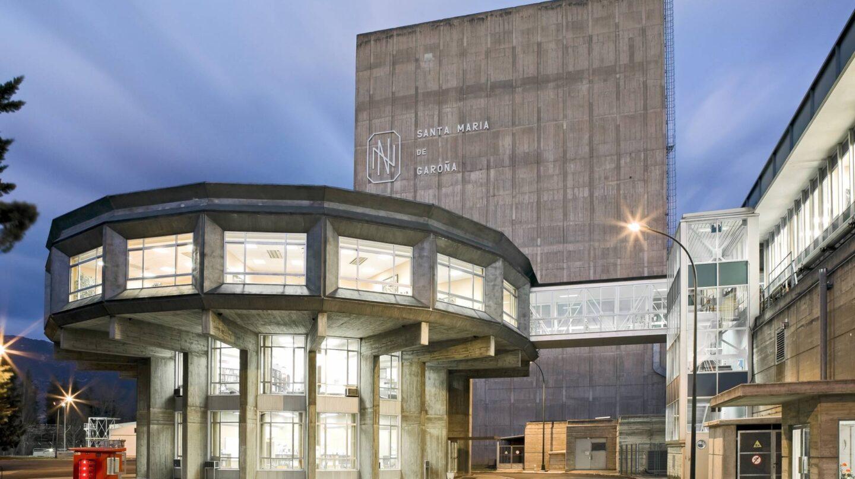 La central nuclear de Santa María de Garoña.