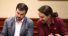 CIS: IU se hace fuerte en Unidos Podemos y copa un tercio de intención directa de voto