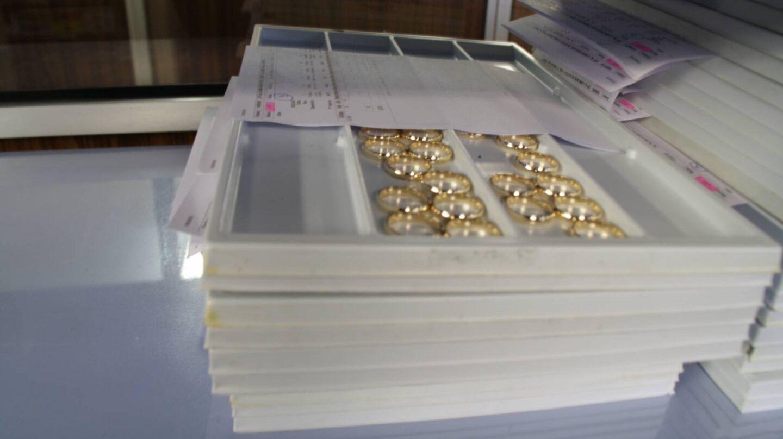Los anillos ya están listos para ser distribuidos en los puntos de venta.