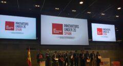 Acto de entrega de los premios a los 10 mejores innovadores españoles menores de 35 años, en Madrid.