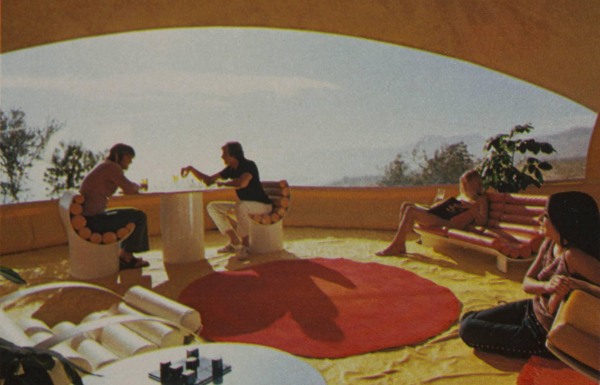'Bubble House', de Design Studio Chrysalis. Publicado en la Revista Playboy (1972).