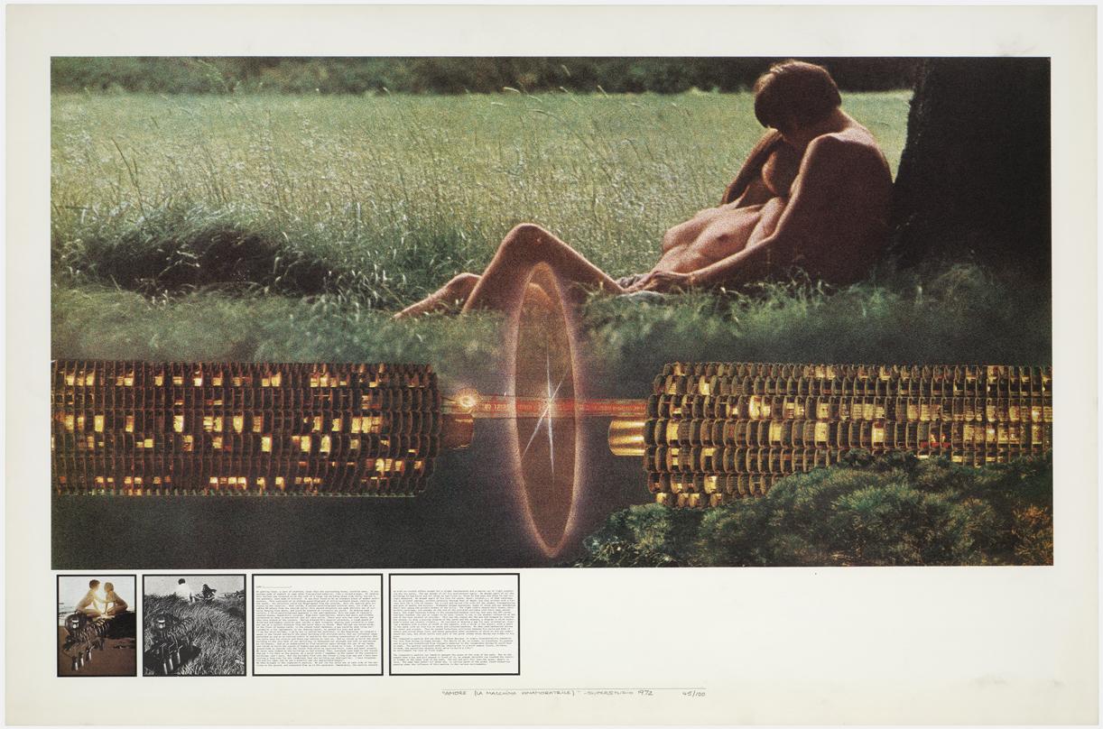 'Atti Fondamentali. Amore: La Macchina innamoratrice', (1971–1973). Archivio Superstudio.