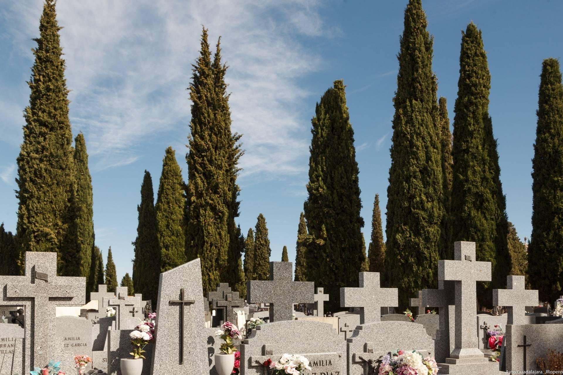 Cementerio en Guadalajara.