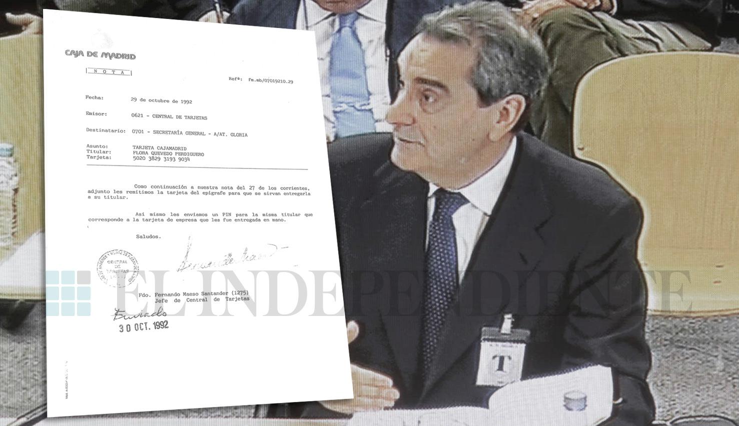 El tribunal del juicio de las tarjetas black ha decidido aceptar los documentos que ponen en cuestión el testimonio de Terceiro.
