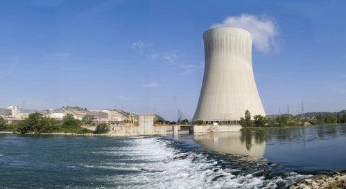 La central nuclear de Ascó, en Tarragona.