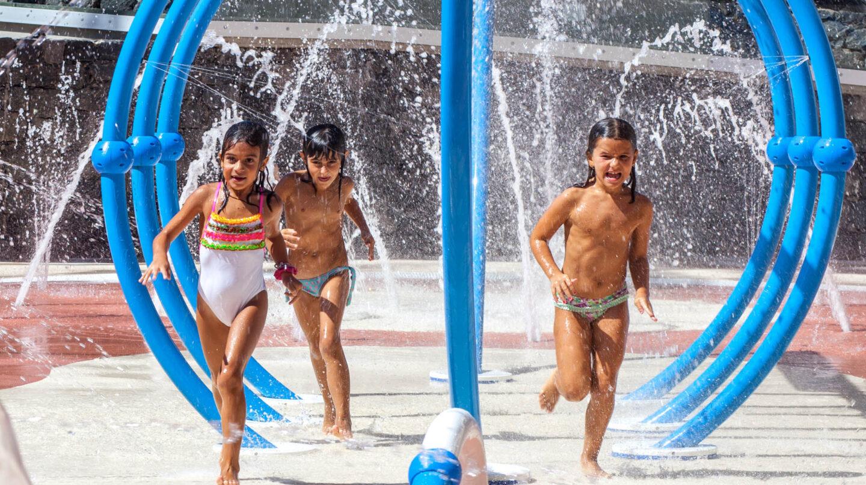 El 'Splash Park' del Hotel Barceló Jandía Mar, en Fuerteventura.