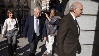Rajoy liquidó el G-8 citando en persona a Margallo y Fernández Díaz