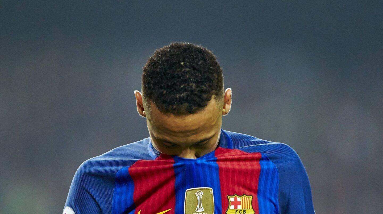 El delantero brasileño del FC Barcelona, Neymar da Silva.