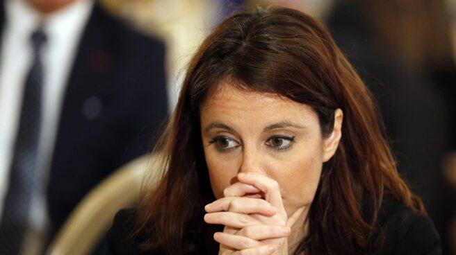 La vicesecretaria de Estudios y Programas del Partido Popular, Andrea Levy, en un desayuno informativo celebrado esta semana.