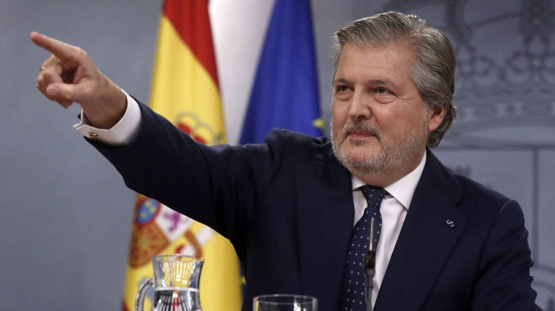 El portavoz del Gobierno, Iñigo Méndez de Vigo, tras el Consejo de Ministros.