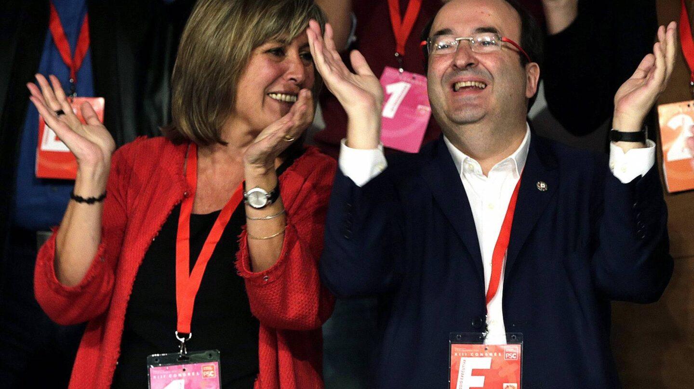 Nuria Marin y Miquel Iceta